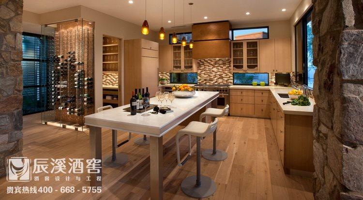 别墅酒窖设计与工程案例-窖藏区现代风格