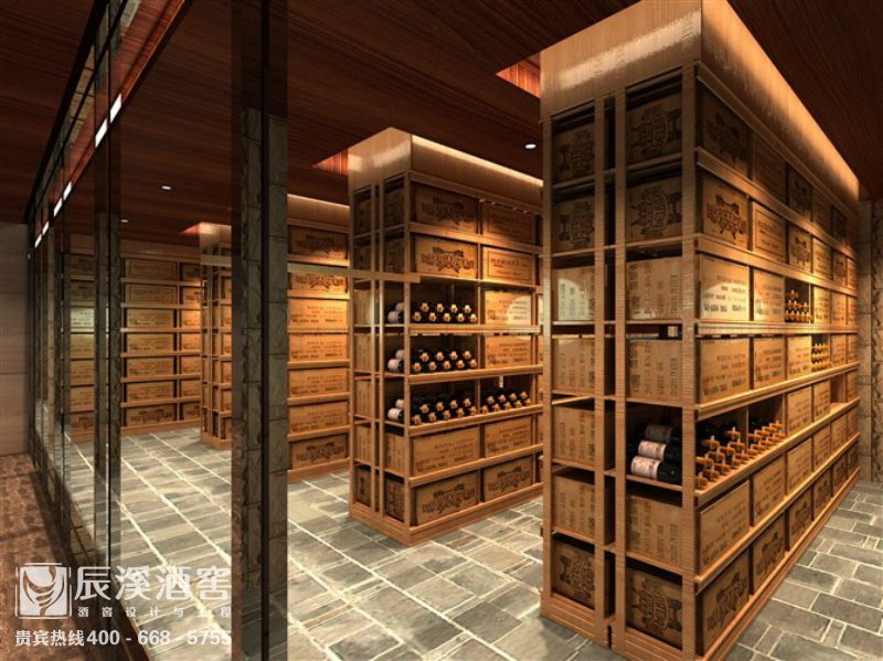 酒庄酒窖设计与工程案例-窖藏区现代风格