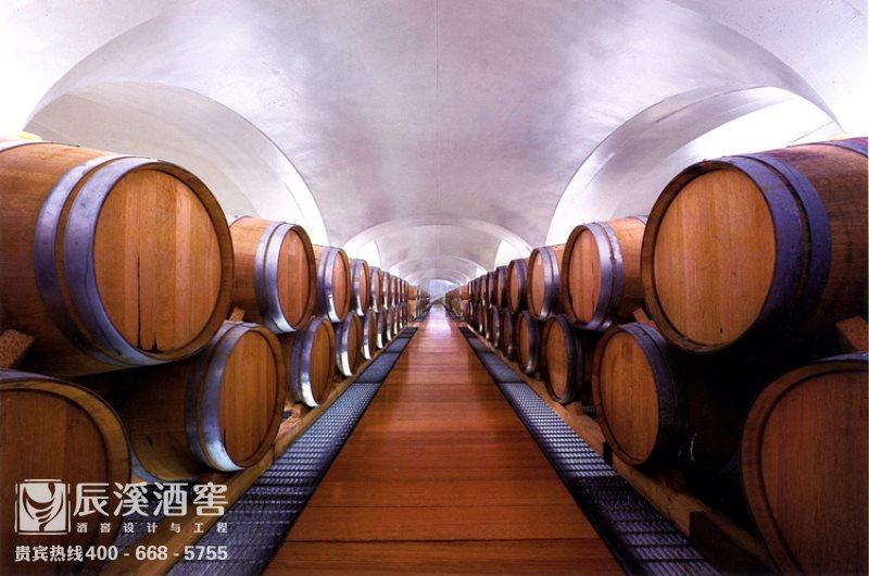 酒庄酒窖设计与工程案例-窖藏区传统风格